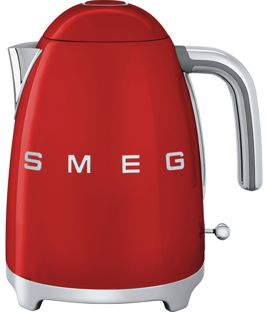 Smeg Klf03rduk 50 S Retro Style Kettle Red Herne Bay