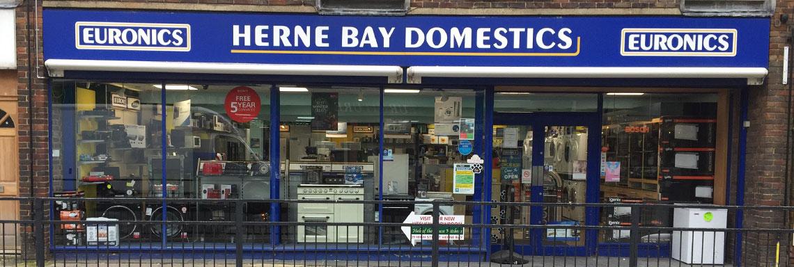 herne bay domestics shop front