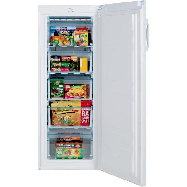 Lec TU55144W inside with food