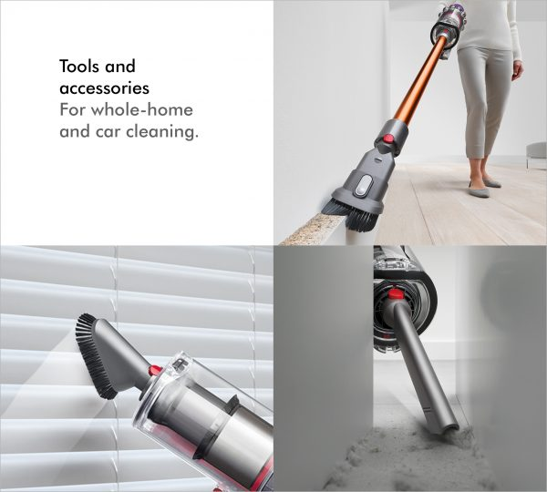 Dyson V10ABSOLUTE+ Cordless Bagless Vacuum Cleaner 10 tools