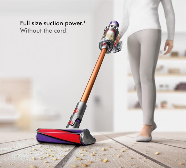 Dyson V10ABSOLUTE+ Cordless Bagless Vacuum Cleaner 2 lifestyle