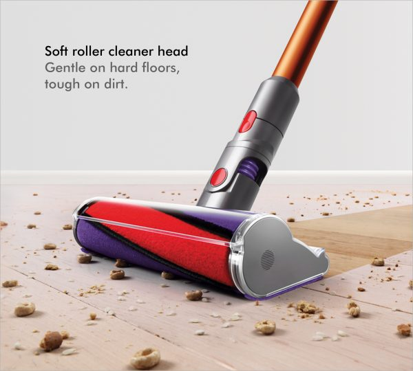 Dyson V10ABSOLUTE+ Cordless Bagless Vacuum Cleaner 4 soft roller cleaner head