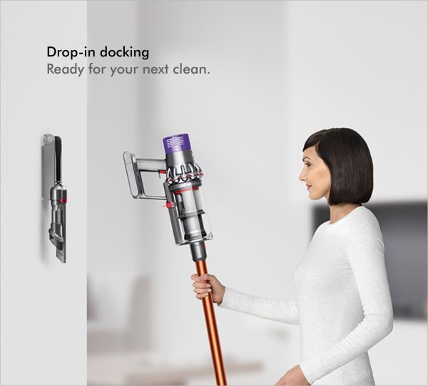 Dyson V10ABSOLUTE+ Cordless Bagless Vacuum Cleaner 8 docking