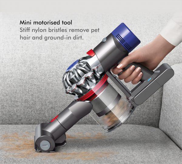 Dyson V8 Animal+ Cordless Bagless Vacuum Cleaner 9 mini motor