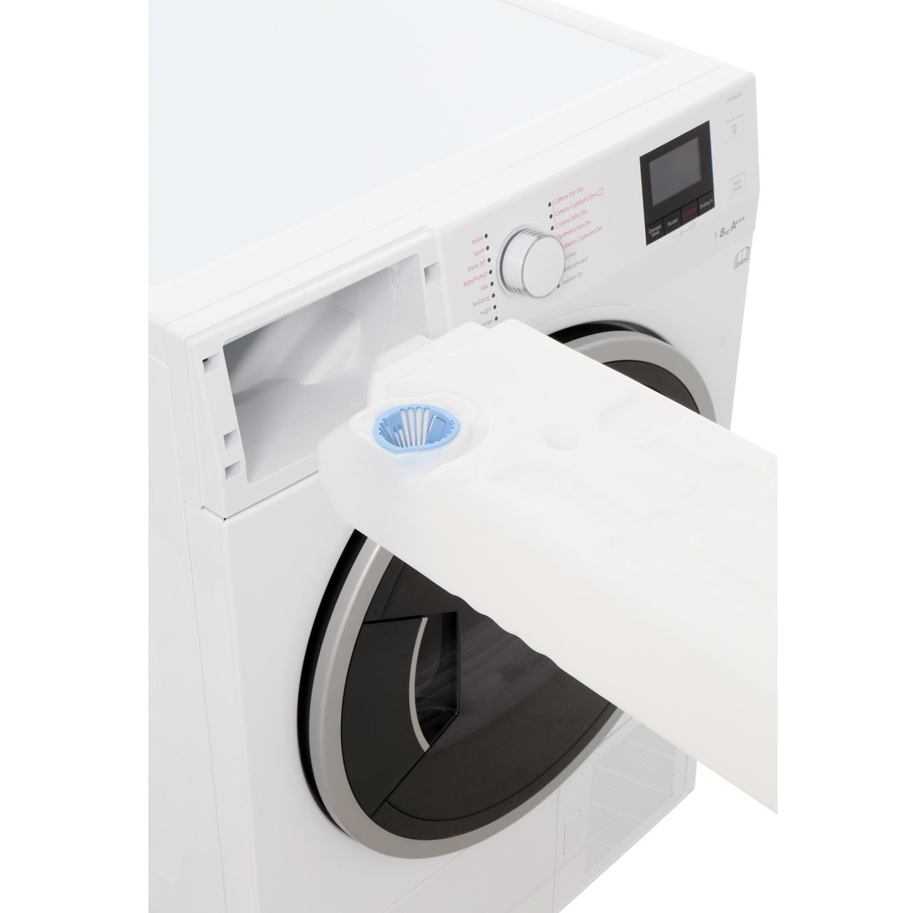 Blomberg Lth3842w 8kg Heat Pump A Rated Condenser Tumble Dryer