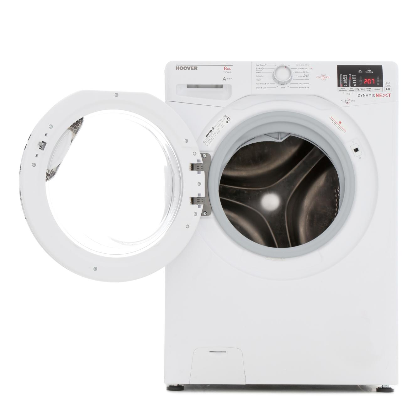 Hoover Dxoc58ac3 8kg 1500 Spin A Rated Washing Machine