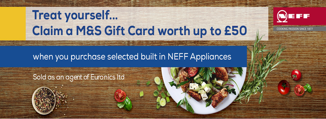 M&S Gift Card on Neff Appliances