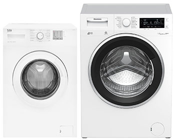 large or small washing machine