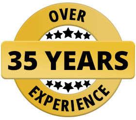 over 35 years experience in appliance repairs
