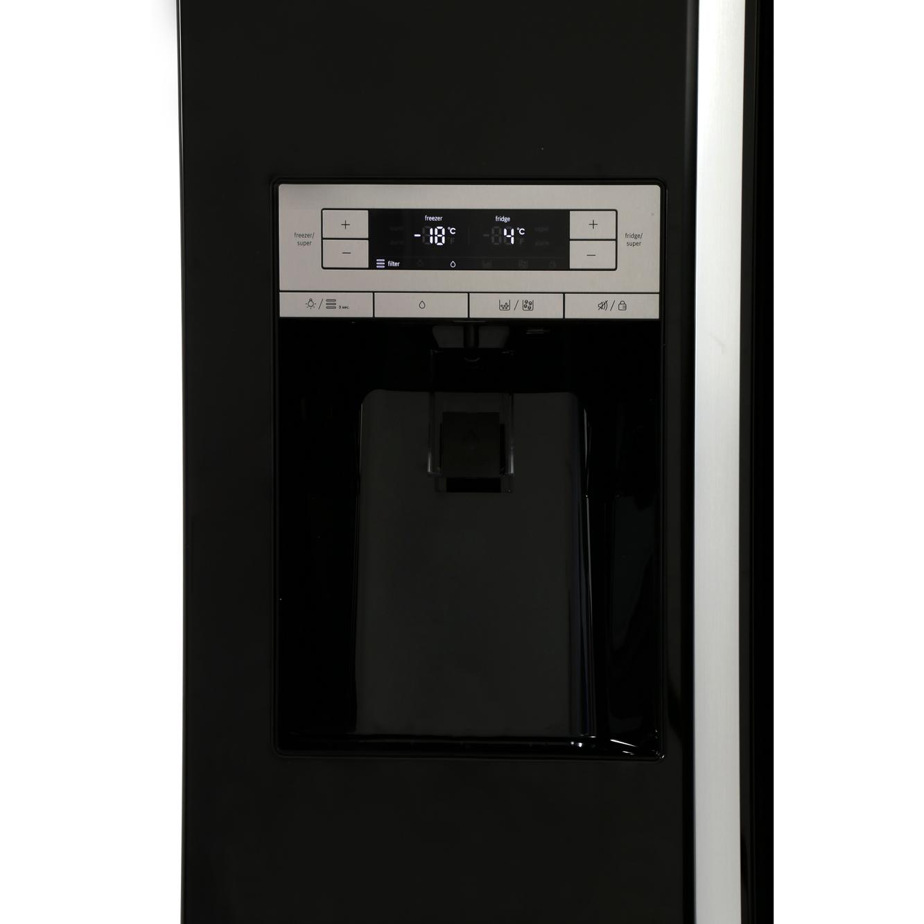 Bosch Kad90vb20g American Style Fridge Freezer Black
