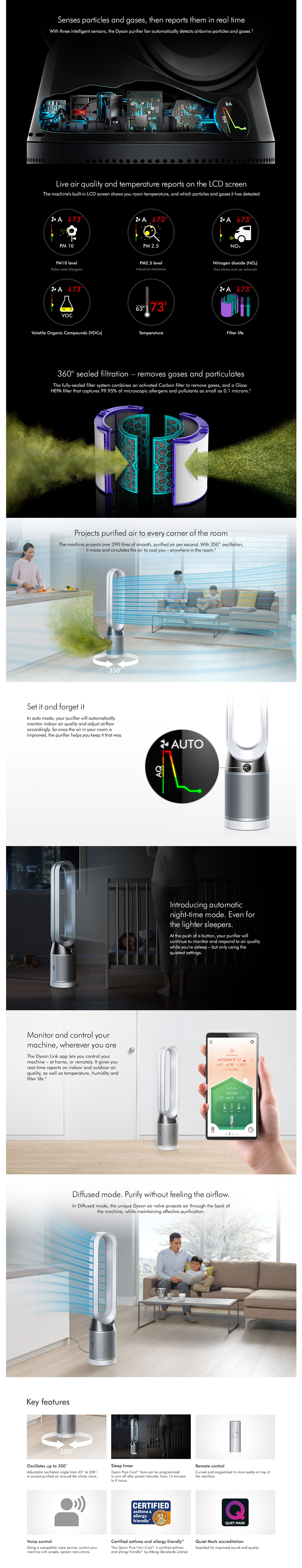 Dyson TP04 Pure Cool Tower Purifier