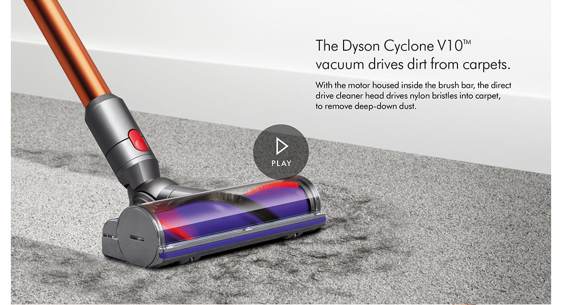 Dyson V10ABSOLUTE+ Cordless Bagless Vacuum Cleaner
