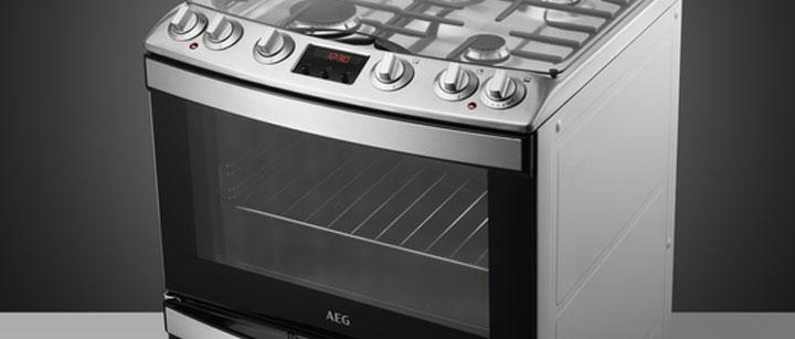 AEG Gas Cooker
