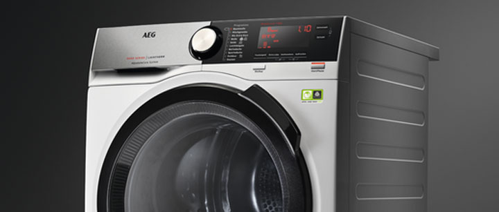 aeg tumble dryer