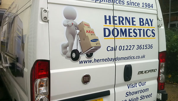 herne bay domestics van