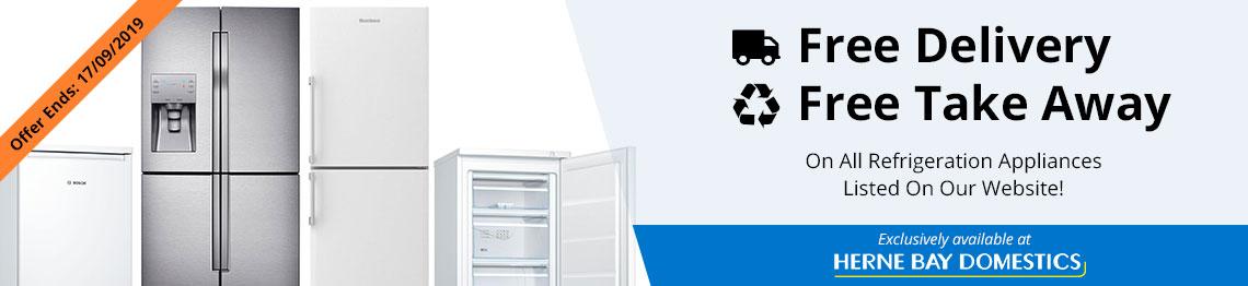 free takeaway refigeration banner