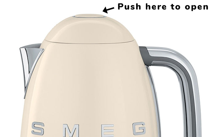 How to open a Smeg kettle