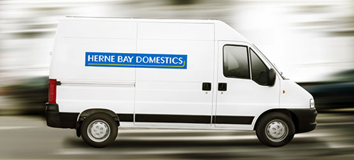 Herne Bay Domestics Delivery Van