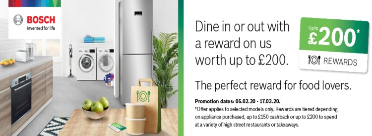 bosch choice promotion front banner