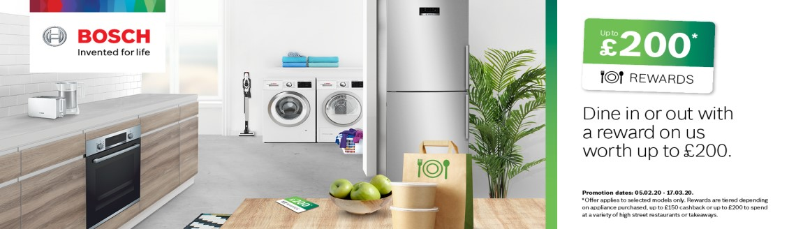 bosch choice promotion product banner