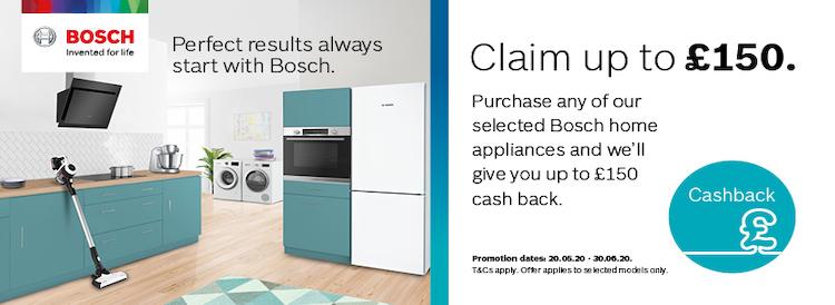 Bosch Cashback Promotion