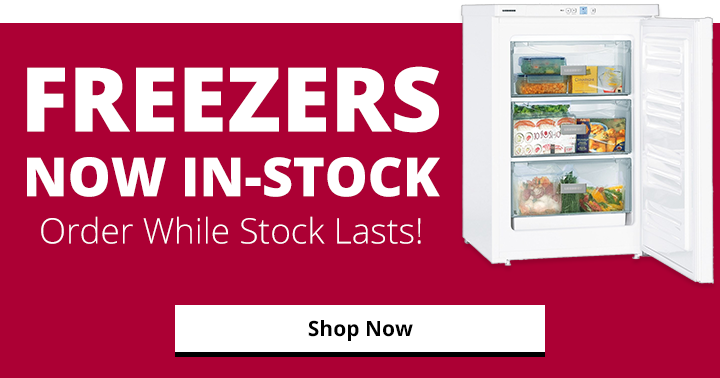 freezers in stock