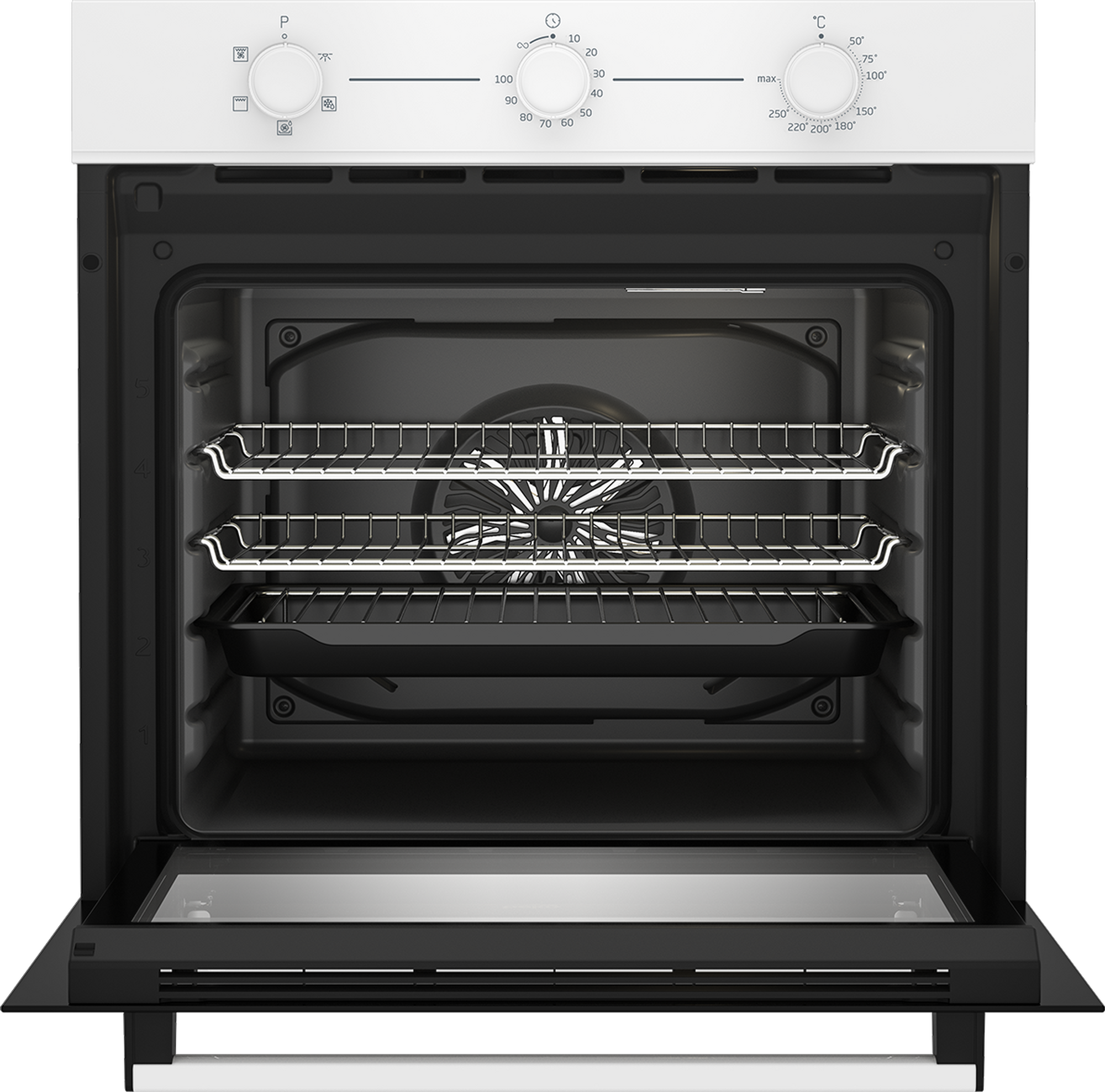 Beko CIFY71W AeroPerfect™ Built In Electric Single Oven ...