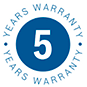 Bosch 5 year warranty