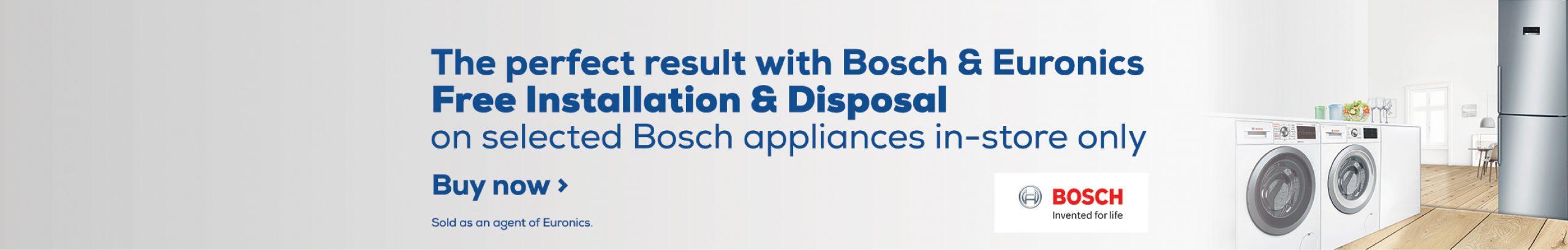 Bosch Free Install