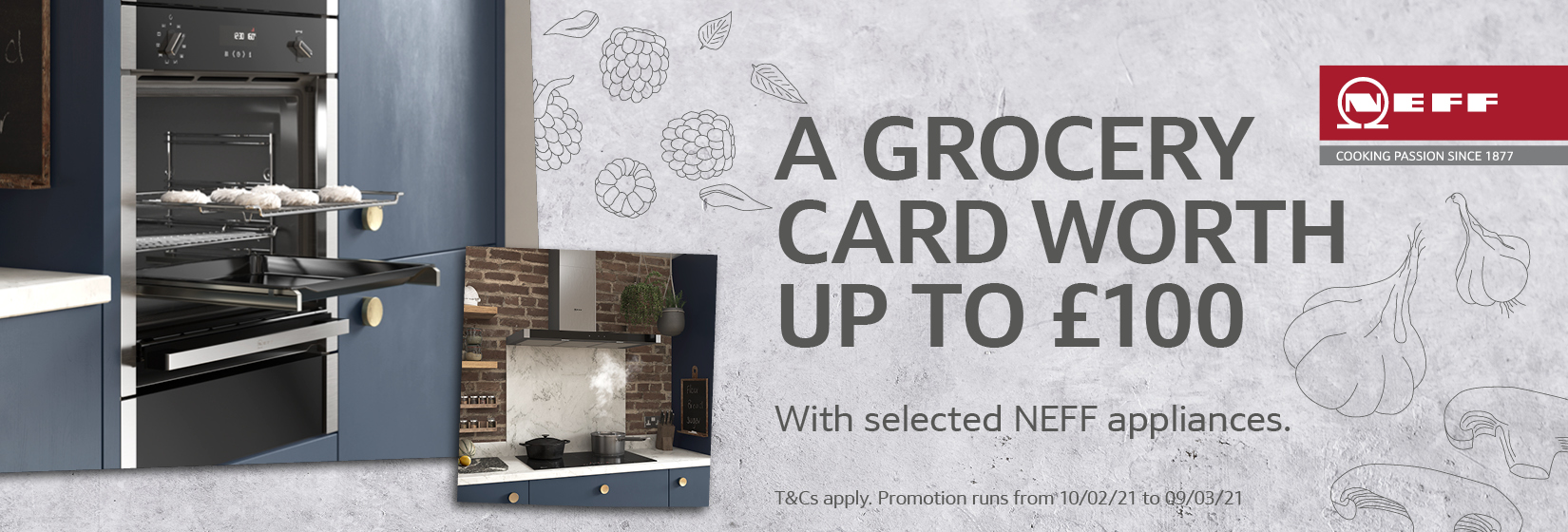 NEFF Grocery Card Banner