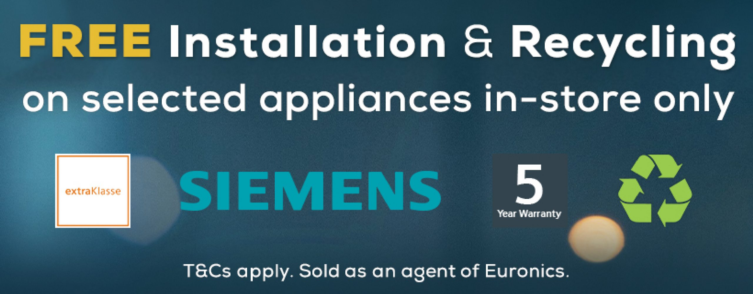 Siemens Free Install & Recycle