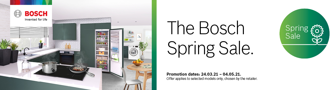 The Bosch Spring Sale Promotion