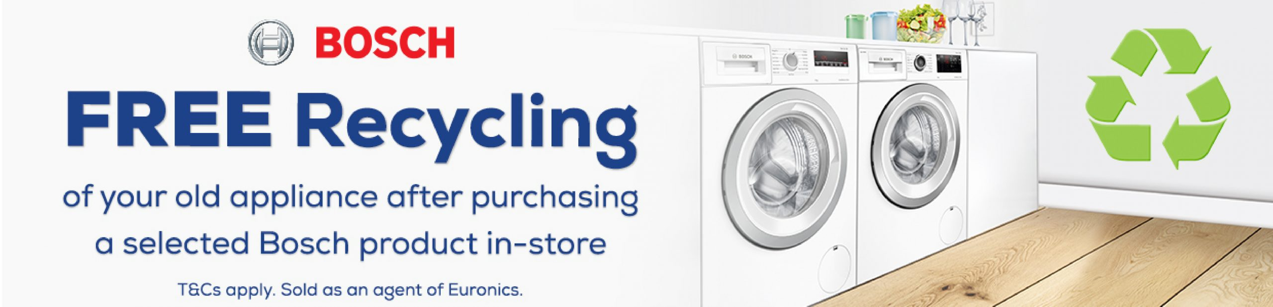 Bosch Free Recycle Web Banner