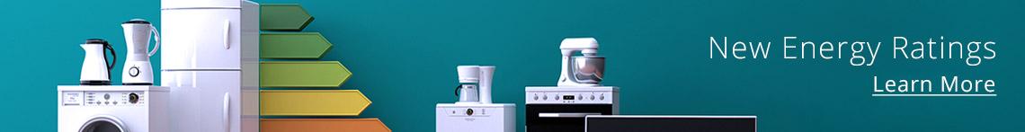 New Energy Ratings For Appliances Banner